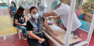 Vice Pres Leni Robredo vaccinated 1