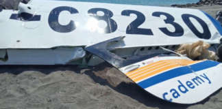 plane crash La union beach