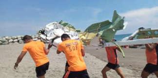 plane crash PCG la union