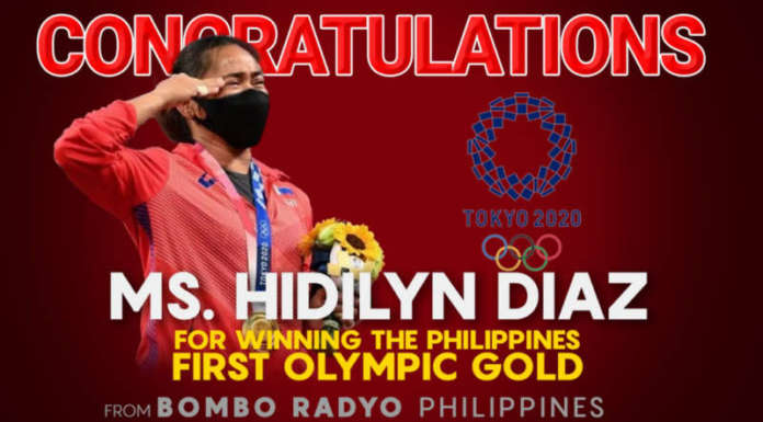 hidilyn HD diaz olympics