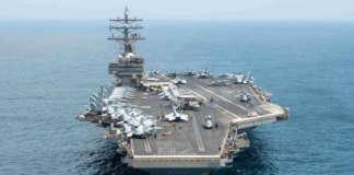 USS Ronald Reagan WPS