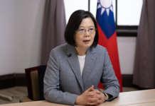 Taiwan President Tsai Ing wen 2