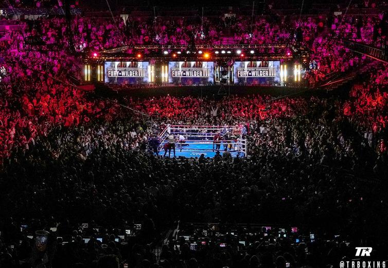 boxing TR fury wilder